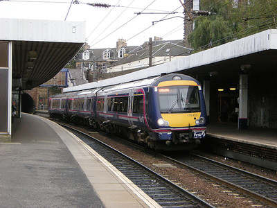 170453 stands at Haymarket on the 18th October 2010