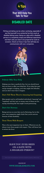 4 Tips That Will Help You Talk To Your Disabled Date