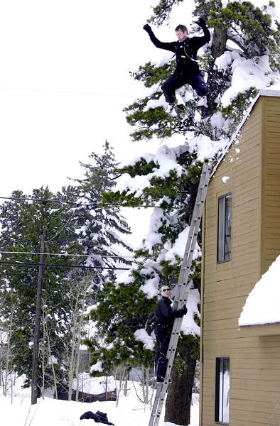 DEEP SNOW JUMP