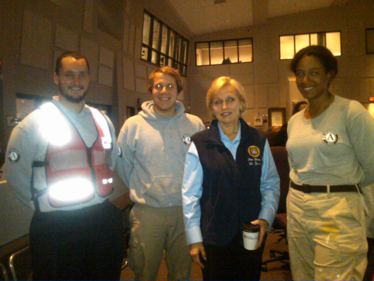 Lt. Gov. & Secretary of State- Kim Guadagno (New Jersey) with AmeriCorps members. Corporation for National and Community Service Photo.