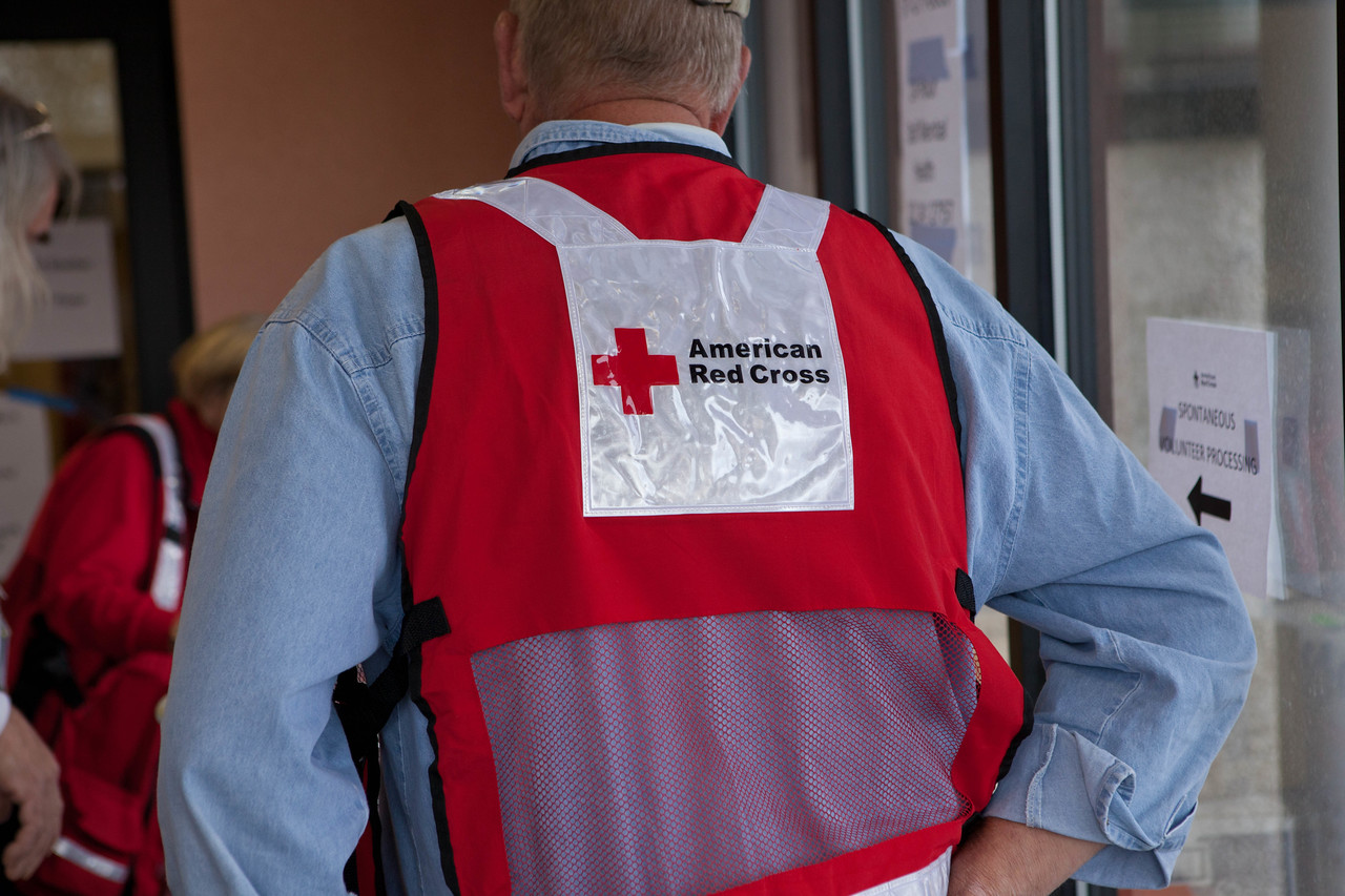 Red Cross volunteer. Corporation for National and Community Service Photo.