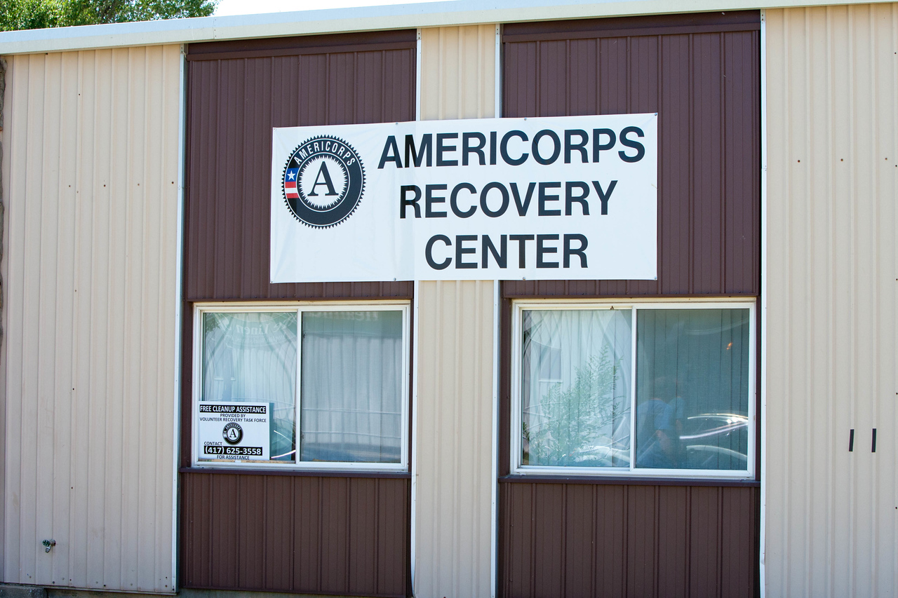 AmeriCorps Recovery Center, Joplin, MO. Corporation for National and Community Service Photo