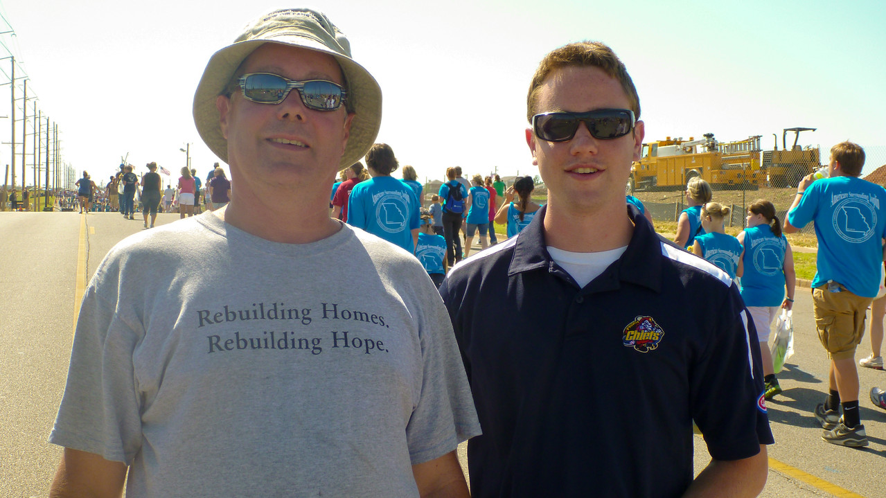 Participants in the Walk of Unity in Joplin, MO. Corporation for National and Community Service Photo.