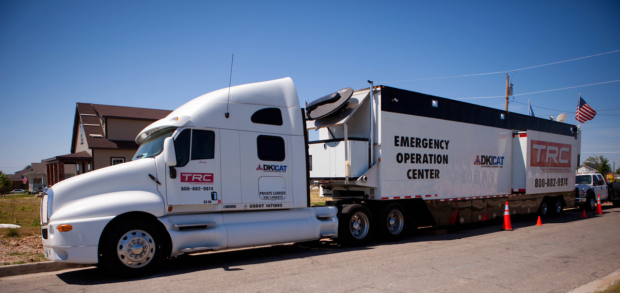 TRC, Emergency Operation Center, Joplin, MO. Corporation for National and Community Service Photo