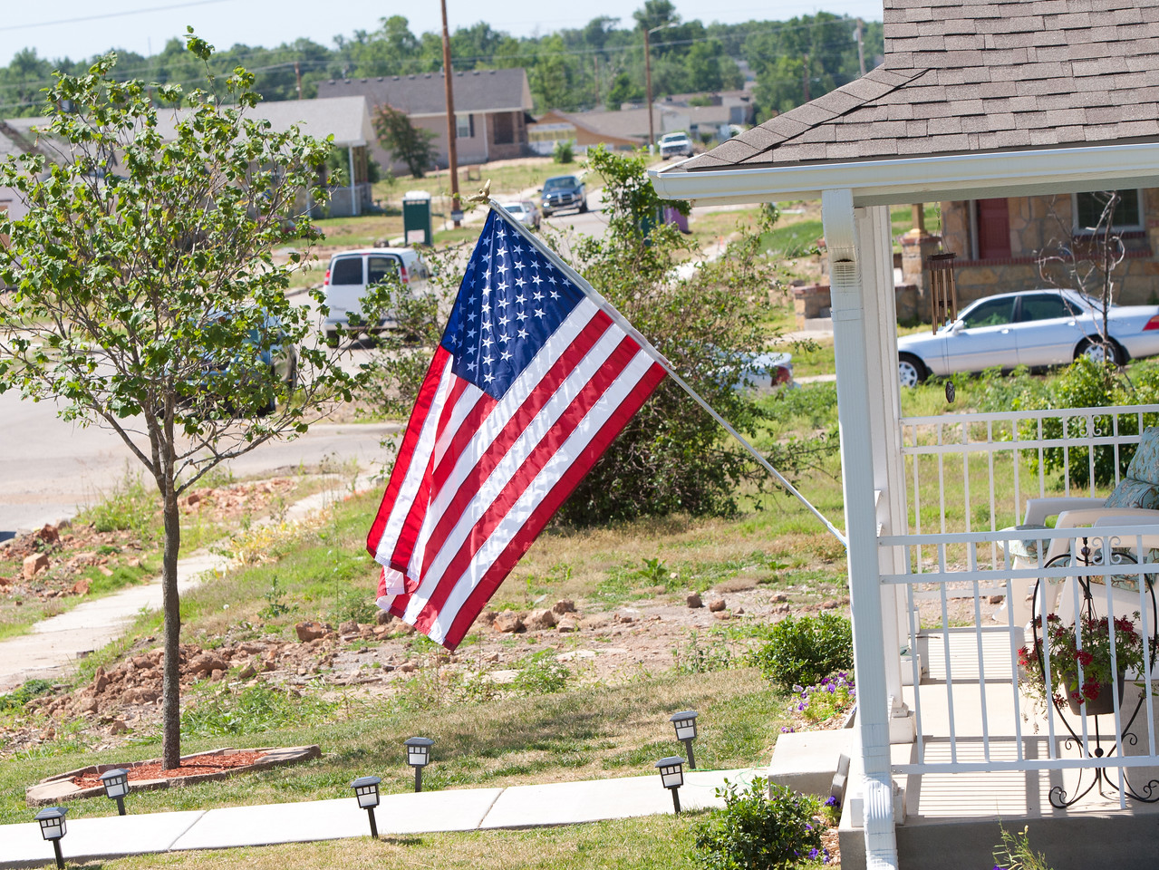 Flag, Joplin, MO. Corporation for National and Community Service Photo