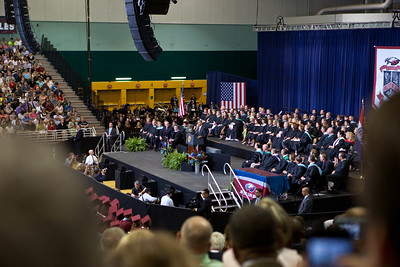 President Barack Obama speaking at the Joplin High School 2012 Graduation at Missouri Southern State University. Corporation for National and Community Service Photo