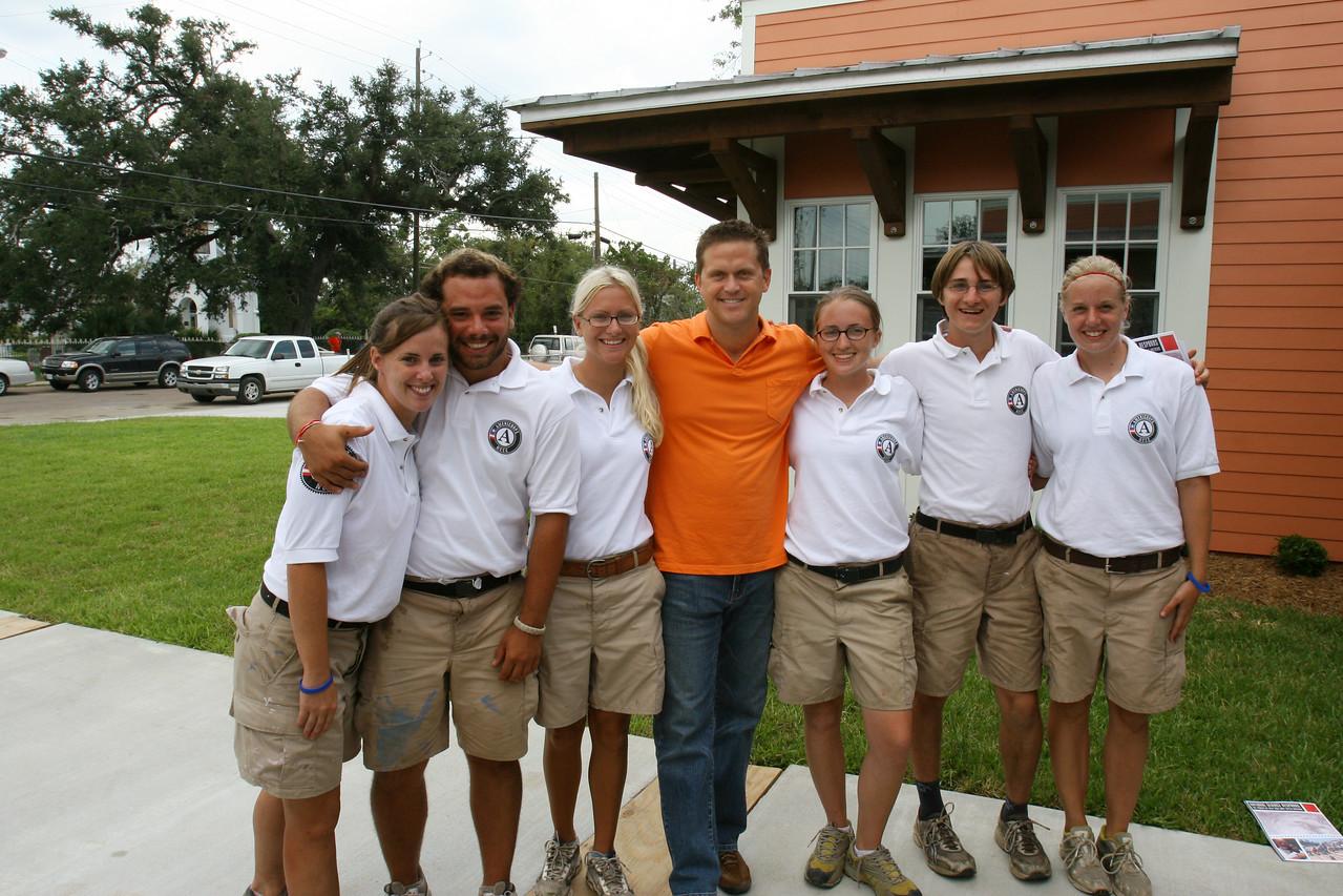 Volunteer Lunch at St. Rose De Lima Catholic Church (Bay St. Louis, MS)