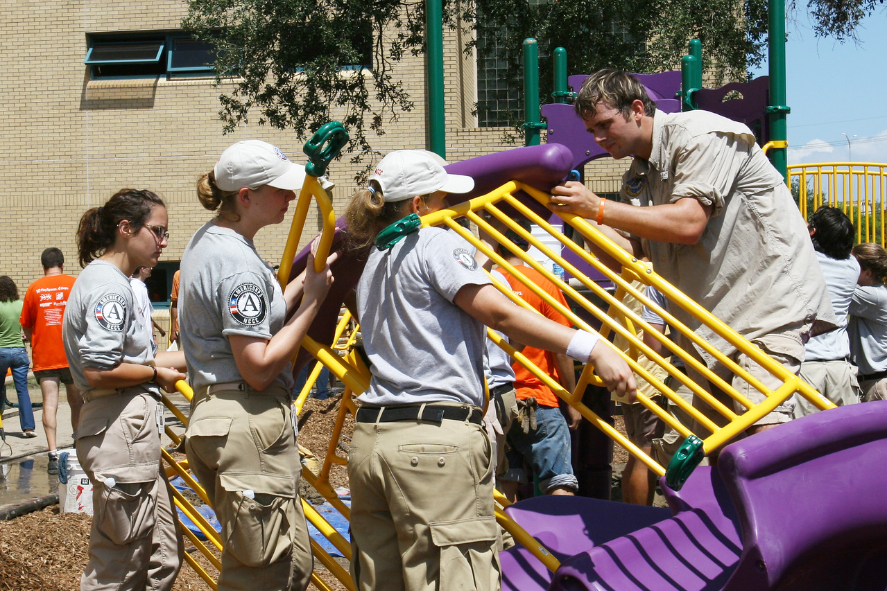 KaBoom Playground Build - Nelson Charter School (New Orleans, LA)