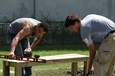 KaBoom Playground Build - Nelson Charter School (New Orleans, LA)