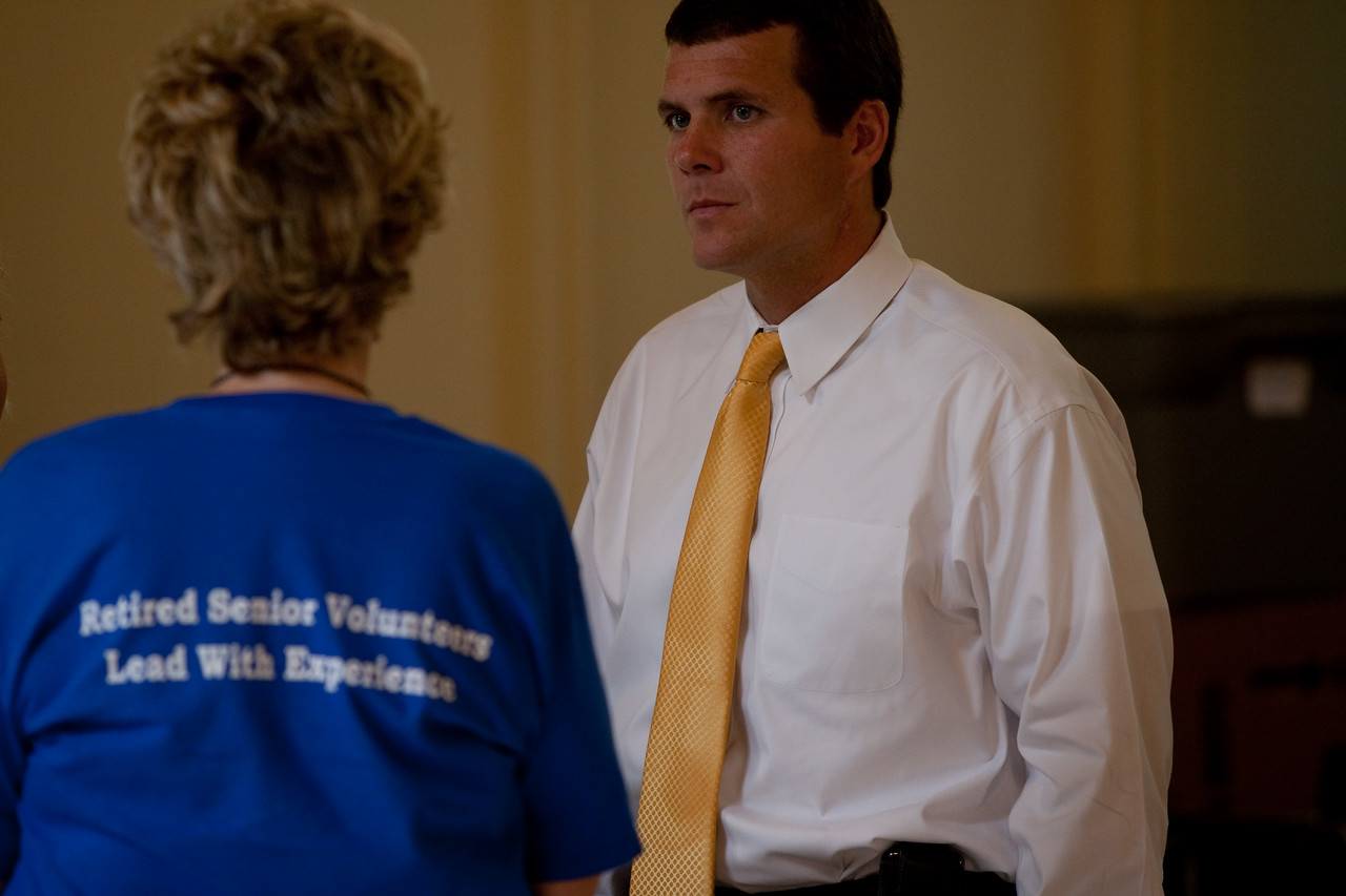 RSVP member and Tuscaloosa Mayor Walter Maddox. Corporation for National and Community Service Photo.