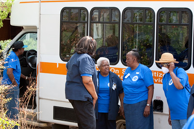 RSVP Senior Corps on ground - Tuscaloosa, AL 2011. Corporation for National and Community Service Photo.