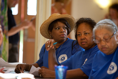 RSVP Senior Corps at call center - Tuscaloosa, AL 2011 Corporation for National and Community Service Photo.