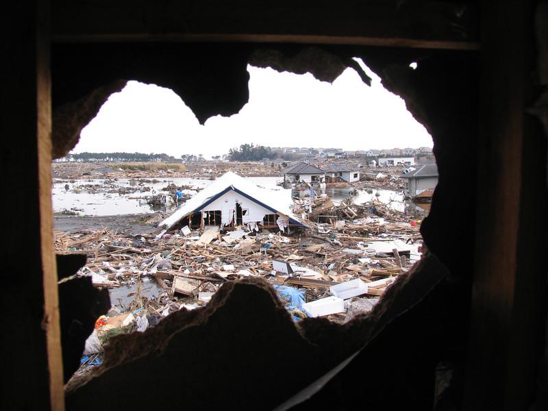 Sendai tsunami disaster - copyright Jeffrey S. Johnston. All rights reserved.