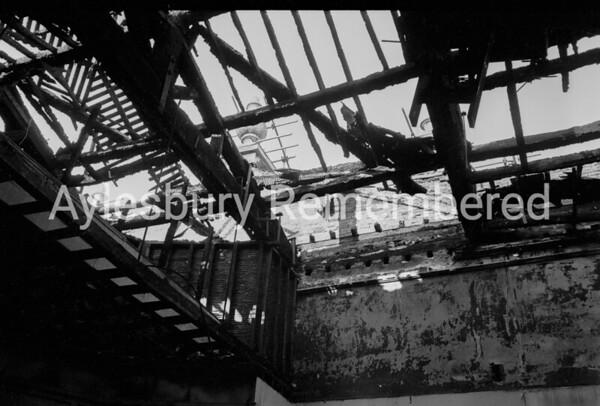 County Hall fire, Feb 1970