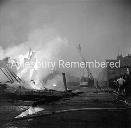 Fire at Hazell, Watson & Viney, Sep 27th 1963