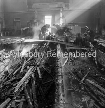 Town Hall fire, Mar 12th 1962