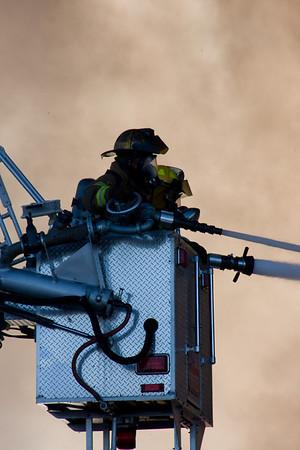 Gratiot Avenue Fire - December 7, 2008