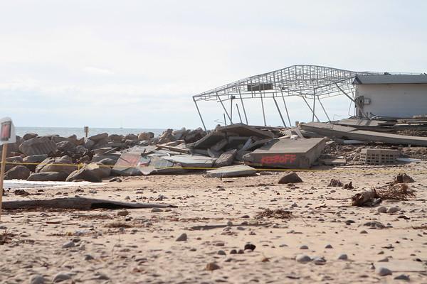Hurricane Sandy Damage at Misquamicut 11/20/12