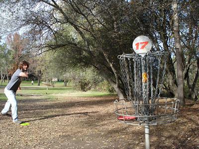 Disc Golf - Auburn Regional Park 11-30-2010