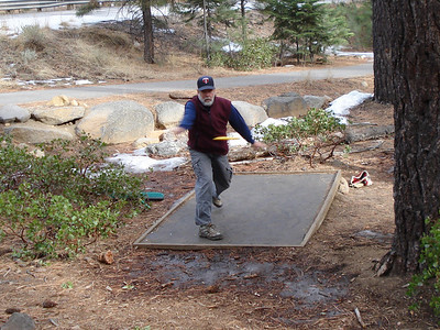 Disc Golf 01-08-2014 Incline Bud
