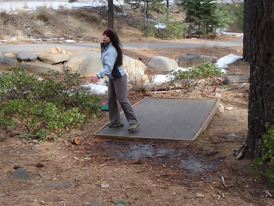 Disc Golf 01-08-2014 Incline Stacie