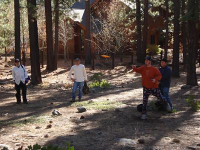 Disc Golf - Incline Village 11-28-2011