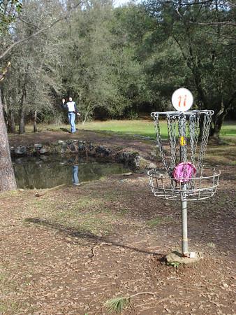 Disc Golf - Hanging Oaks 01-12-2011