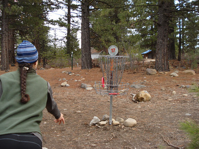 Disc Golf Truckee 03-05-2014