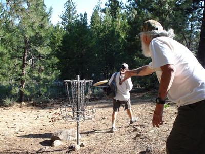 Disc Golf - Truckee Regional Park 07-28-2011
