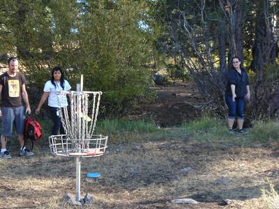 Disc Golf - Truckee Regional Park 10-22-2011