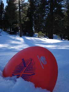 Truckee Disc Golf Course 12-07-2010 Eleventh Approach