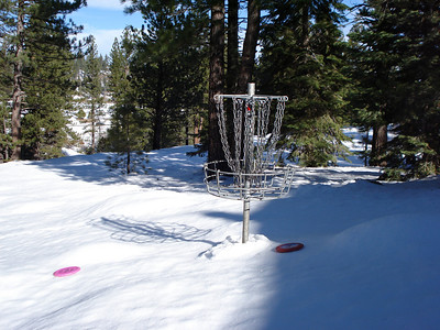 Truckee Disc Golf Course 12-07-2010 Fifth Basket