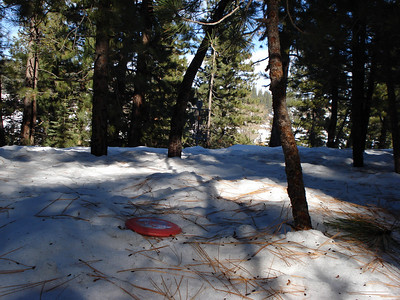 Truckee Disc Golf Course 12-07-2010 Fourth Approach
