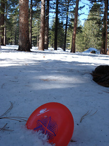 Truckee Disc Golf Course 12-07-2010 First Approach