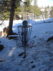 Truckee Disc Golf Course 12-07-2010 Seventh Basket