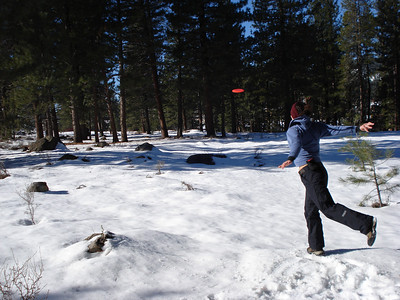 Truckee Disc Golf Course 12-07-2010 Third Tee