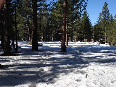 Truckee Disc Golf Course 12-07-2010 Second Tee