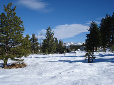 Truckee Disc Golf Course 12-07-2010 Ninth Approach
