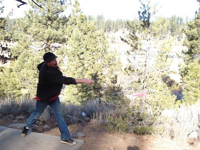 Disc Golf - Truckee Regional 01-03-2012