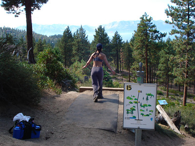 Disc Golf - Zephyr Cove 09/24/2011