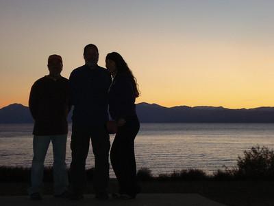 Zephyr Cove 10-26-2011 Dusk on Lake Tahoe