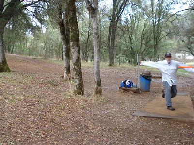 Disc Golf - Hanging Oaks 02-01-2012