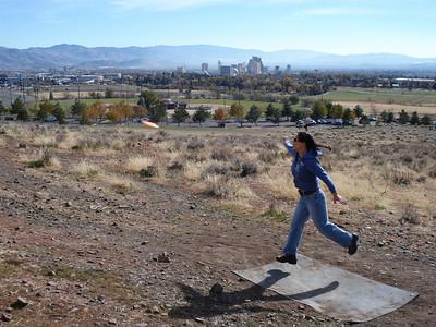 """Disc Golf - """"The Ranch"""", Reno 11-16-2010"""
