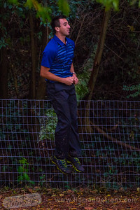 Paul McBeth reacts after missing a birdie putt on Hole 8, Round 4.