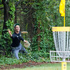 Ricky Wysocki putts on hole  no. 2 during round 3 of the 2016 USDGC.