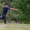 Nikko Locastro throws a shot on hole  no. 5 during round 3 of the 2016 USDGC.