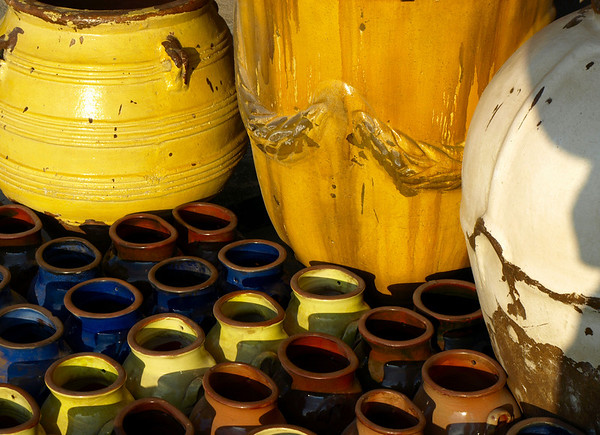<center><h2>Pottery Series #3</h2>(color)  Atlanta, Georgia