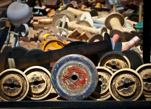 <center><h2>'Sewing Spools'</h2> Scott's Antiques, Atlanta, GA</center>
