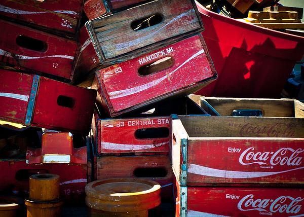 <center><h2>'Coke Cases'</h2> Scott's Antiques, Atlanta, GA</center>