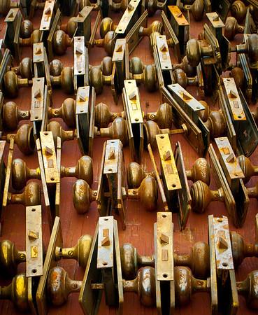 <center><h2>'Reclaimed Lock Sets'</h2> Scott's Antiques, Atlanta, GA</center>